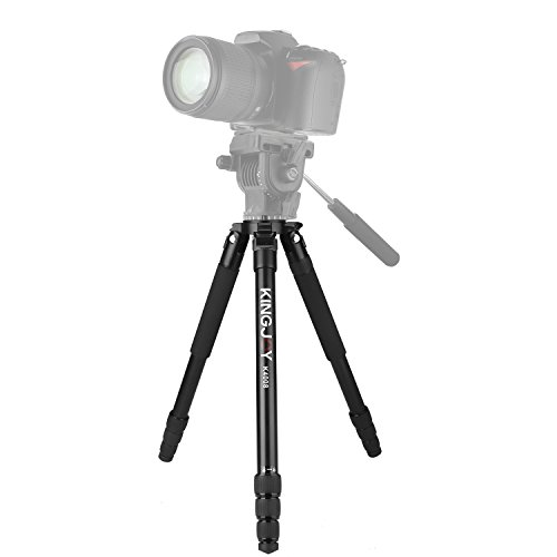 62-inch Heavy Duty Tripod Legs,Kingjue K4008 Professional Camera Video Tripod Stand for DSLR Camera Camcorder by Kingjue