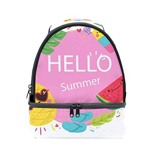 Pastèque isotherme Hello Ananas Summer Cooler lunch pour Pincnic l'école mignon Tote réglable Sac à avec Boîte bandoulière Alinlo à wIzBqq