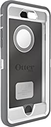 OtterBox iPhone 6 ONLY Case - Defender Series, Retail Packaging - Glacier (White/Gunmetal Grey) (4.7 inch)
