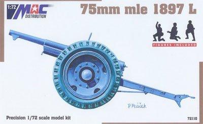 Amazon | 1/72 M1897 L 75mm野砲...