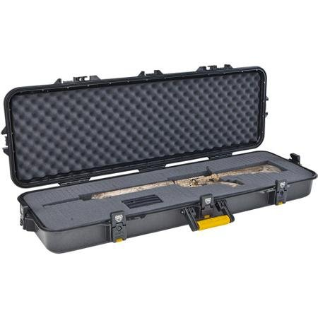 Gun Case, Scoped Rifle Shotgun Airsoft Hard Case ~ WATERTIGHT ~ Holds 42
