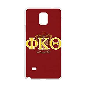 Samsung Galaxy Note 4 Cell Phone Case White_Phi Kappa Theta Greek Letters Afzck