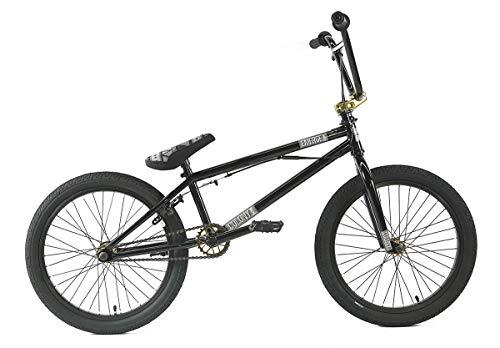 Colony BMX Emerge 20 Inch Complete BMX Bike in Gloss Black/Gold