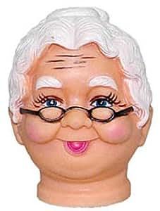 Amazon Com Vinyl Grandma Or Mrs Claus Doll Heads Pkg