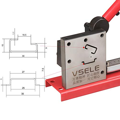 (DIN Rail Cutter Tool for Cutting with Guide and measuring ruler, cutting din rail )