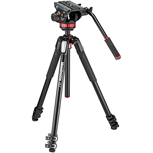 Manfrotto Monitor (Manfrotto MVK502055XPRO3 Photo Video Hybrid Kit with 502 Series Head, Black)