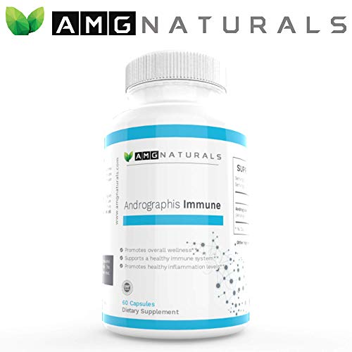 Andrographis Capsules - Andrographis Paniculata Capsules to Support Optimal Immune Immunity & Microbial Defense - High Potency 500mg per Capsule 60 Capsules ()