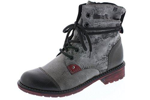 pour grau Rieker fumo K3457 bottes enfants gris 45 Z0ZqnH6wx