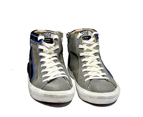 Grigio E Golden Camoscio Alta In Goose Sneaker Nero 0wxAPYxRaq