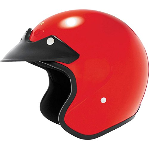 2013 Cyber U-6 Open-Face Motorcycle Helmets - Red - 2X-Large