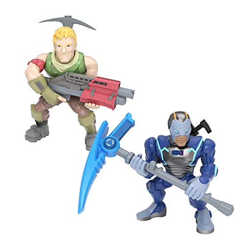 Fortnite Battle Royale Collection: Carbide & Sergeant Jonesy – 2 Pack of Action Figures