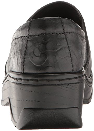 Klogs Flower Tooled Tooled Flower Tooled Klogs Black Klogs Black Black Flower gwwO5qU