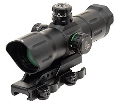 "UTG 6"" ITA Red/Green CQB T-dot Sight with Offset QD Mount from Leapers, Inc."