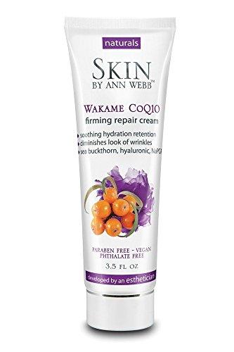 (Skin by Ann Webb Wakame Coq10 Firming Repair Night Cream Lotion Chamomile, 3.5 Fluid Ounce)