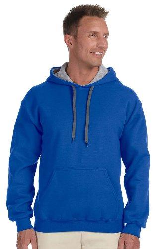 royal Grey Sport Roi Bleu Homme À Multicolore Pour Sweatshirt Gildan Capuche gris OvBPYqz