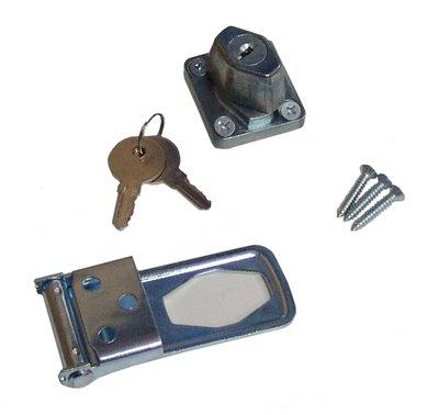 Stanley Hardware 3-1/2-Inch Keylocking Hasp, Zinc Plated #755204