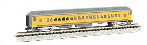 - Bachmann Industries Heavyweight Coach with Lighted Interior - Union Pacific (N Scale), 72'