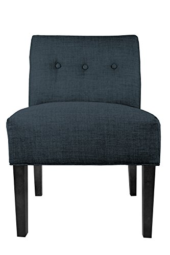 "MJL Furniture Designs Samantha Collection Fabric Upholstered Button Tufted Living Room Accent Guest Chair, Obsession… - A VERITABLE THRONE: Each Accent Living Room Chair Measures 27""L x 24""W x 35""H and Weighs 21 LBS. Leg Assembly is Required Upon Delivery of Chair. UNYIELDING CONSTRUCTION: These Living Room Chairs are Carefully Constructed of Sturdy and Unyielding Wood, Resulting in a Generous 250 LB Chair Weight Capacity. EXQUISITE AND ELEGANT: The Obsession Accent Chair Features an Exquisite Fabric Upholstery of 100% Polyester. The Chairs are Further Adorned With an Elegant, Button Tufted Back. - living-room-furniture, living-room, accent-chairs - 41Dr2ohUBaL -"