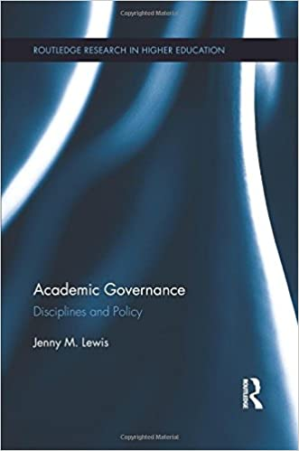 Academic Governance: Disciplines and Policy