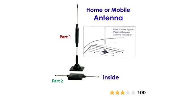 Antena de teléfono Celular - Antena de repetición pasiva Externa