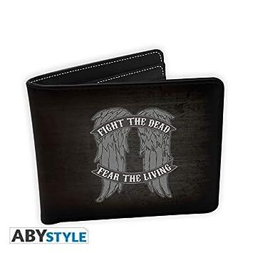 ABYstyle Abysse Corp_ABYBAG233 Walking Dead - Cartera con alas de Daryl - Vinilo: Amazon.es: Juguetes y juegos