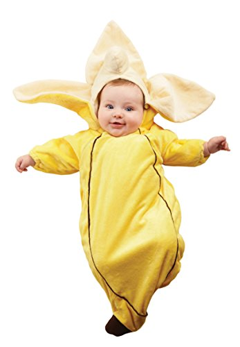 Underwraps Costumes Baby's Banana Bunting, Yellow, -