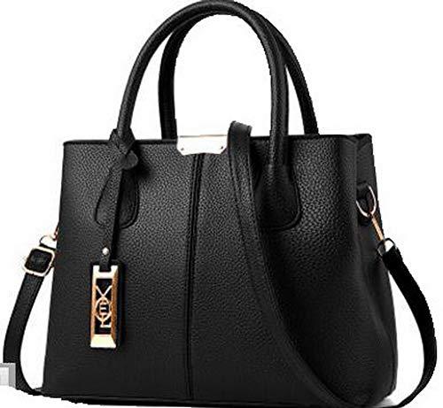 Nero tracolla a Style Festa Shopping Dacron Donna FBUIBC181787 Tote Borse AllhqFashion Chiaretto 8q0xPTp