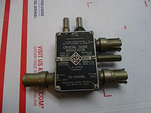 General Radio 1000-P6 / 1000P6 GenRad Crystal Diode Modulator MHz - 1 GHz