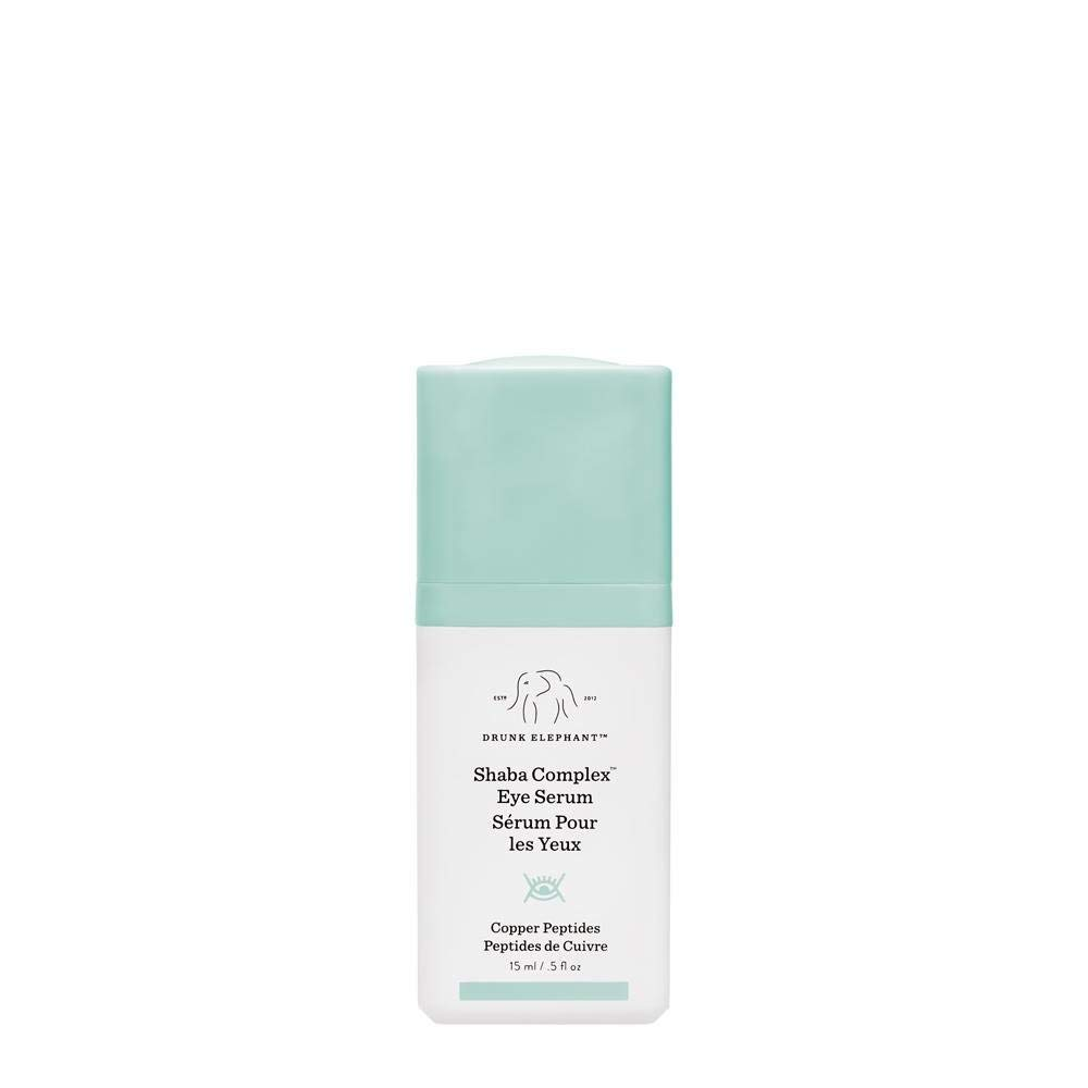 Drunk Elephant Shaba Complex Eye Serum - Anti Aging Wrinkle Serum for Dark Circles (15 Milliliters/ .5 Ounce) by Drunk Elephant