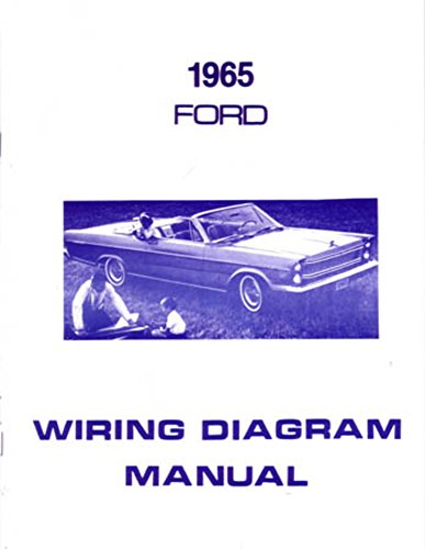 Oem Electrical Wiring Diagram (bishko automotive literature 1965 Ford Galaxie Electrical Wiring Diagrams Schematics Manual Book Factory OEM)