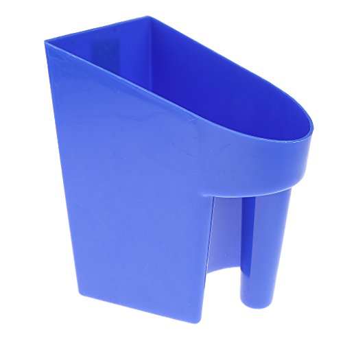 DYNWAVE Plastic Feed Scoop Horse Tool Reusable Portable Food Feed Box Accessories