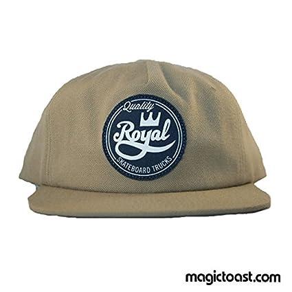 Royal Seal desestructurada gorra Caqui camiones Skate/sombrero