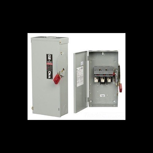 Safety Switch 400 Amp (GE TH3325R 3 Wire 3 Pole Fusible Type TH Heavy-Duty Safety Switch 240 Volt AC 400 Amp NEMA 3R Spec-Setter™)