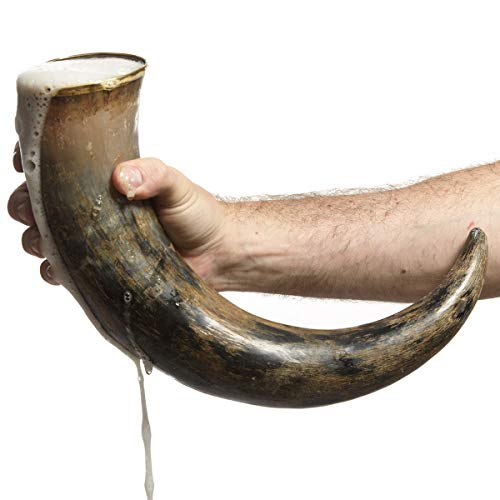 AleHorn - Original Handcrafted Authentic Viking Drinking Horn - 20