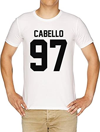 #FIFTHHARMONY, Camila Cabello Camiseta Hombre Blanco