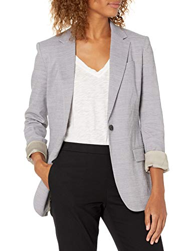 Theory Women's One Button Staple Blazer