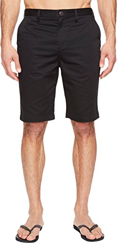 Billabong Men's Carter Legacy Chino Walkshorts Black Shorts Black Chino Walkshort