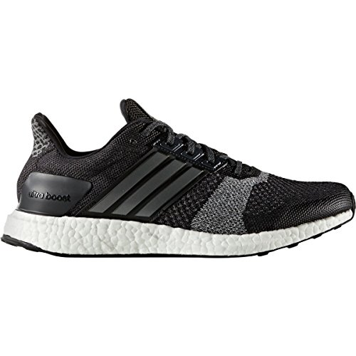 adidas Men's Ultra Boost ST, Black/White, 11 D