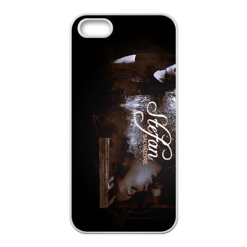 The Vampire Diaries 023 coque iPhone 4 4S cellulaire cas coque de téléphone cas blanche couverture de téléphone portable EOKXLLNCD20301