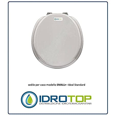 Asse Water Ideal Standard.Ideal Standard Small Toilet Soft Close White Euro Zip Slowed Cromo