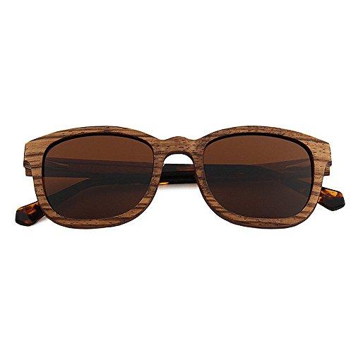 soleil Men lunettes à bois de Hommes Ultra de polarisées Marron soleil UV de lunettes protection de lunettes lunettes la Light en de conduite haute Couleur main soleil qualité plage Marron soleil 1rTqw1nz
