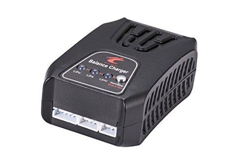 Senhai Power Tech. Ocean Loong 2-4 Cells LiPo 7.4V 11.1V 14.8V Life 6.6V 9.9V 13.2V LiHV 7.6V 11.4V 15.2V Balance Charger with LED- Great for Airsoft & RC Car Battery Packs by Senhai Power Tech.