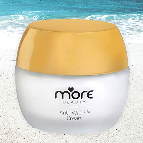 More Beauty – Anti-Wrinkle Face Cream, Dead Sea Mineral Moisturizing Skin Firming Cream, Vitamins A, D, C, E, Vitamin B5, Day & Night, for Normal to Dry Skin, SPF 25 Sun Shield Lotion 50 ml.