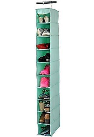 Aufbewahrung Hängend oxford stoff 10 shelf hängen schuh organizer rack aufhängen