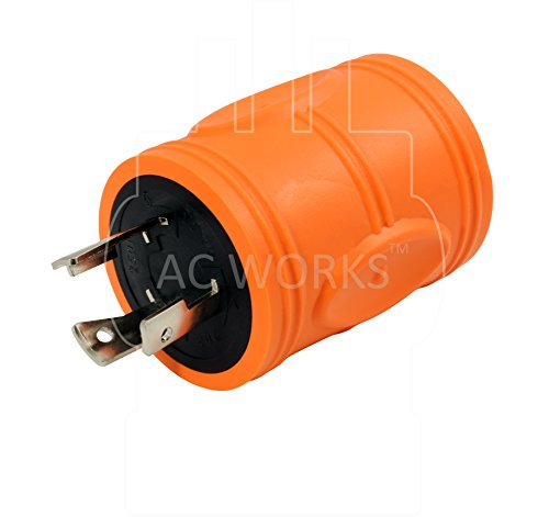 AC WORKS [ADL620L630] Plug Adapter L6-20P 20Amp 250Volt Male Plug to L6-30R 30Amp Female Connector by AC WORKS (Image #2)