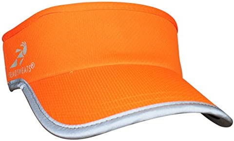 ed509e04e7d99 Amazon.com  Headsweats Supervisor Sun Visor (Hi Viz Orange Reflective)   Sports   Outdoors