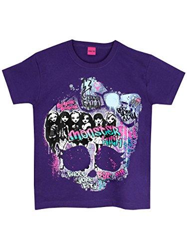 Monster High Clothes For Girls (Monster High Girls' Monster High T-Shirt Size 14)
