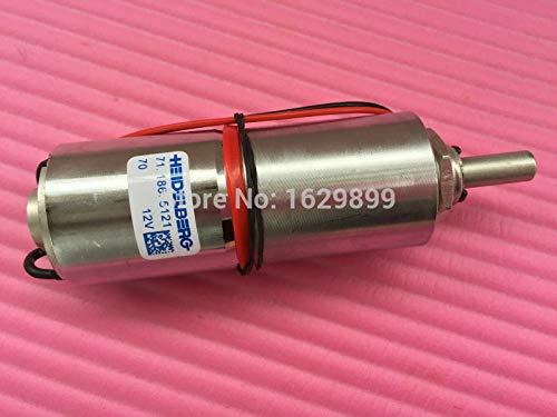 Yoton 1 piece hengoucn CD102 SM102 gear motor 71.186.5121 12V by Yoton (Image #5)
