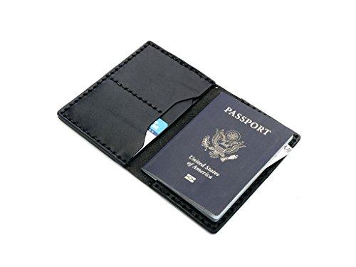 Billykirk No. 153 Passport Wallet (Black) by Billykirk