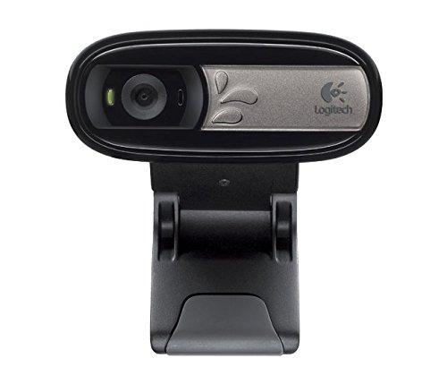 5 MP Nero//Antracite Logitech C170 Webcam microfono